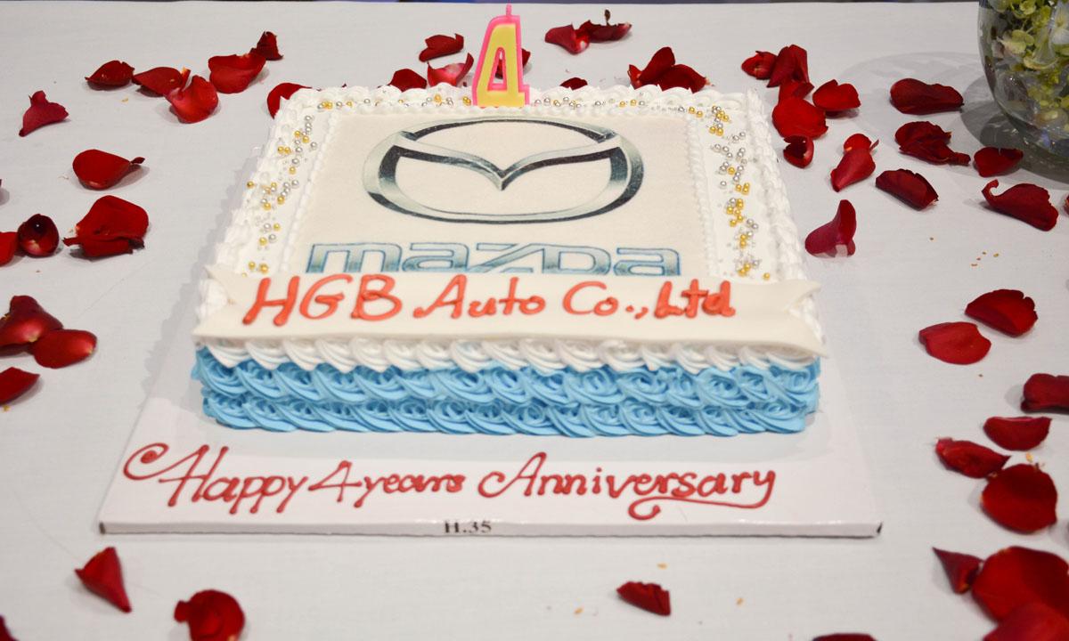 Mazda Cambodia 4th Year Anniversary