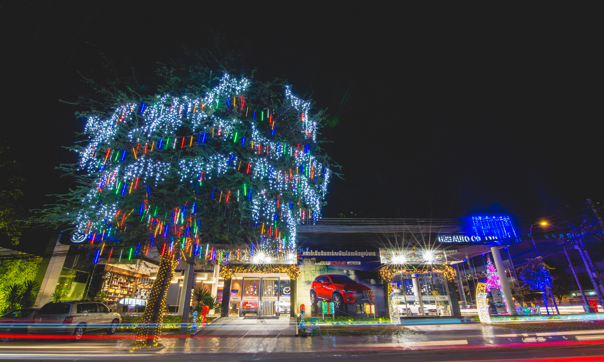 Merry Christmas & Happy New year from HGB Auto, Mazda Cambodia.